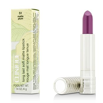 Long Last Lipstick - No. 51 Plum (Soft Matte) 0.14oz