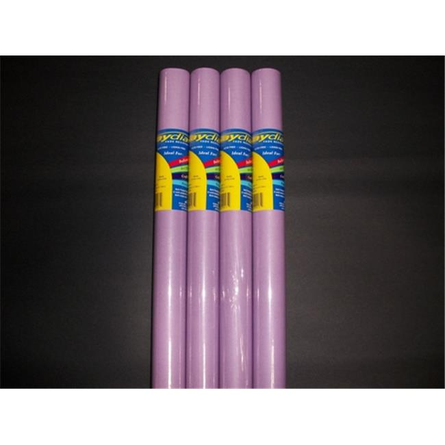 RiteCo Raydiant 80177 Riteco Raydiant Fade Resistant Art Rolls Lilac 48 In. X 50 Ft. 4 Pack