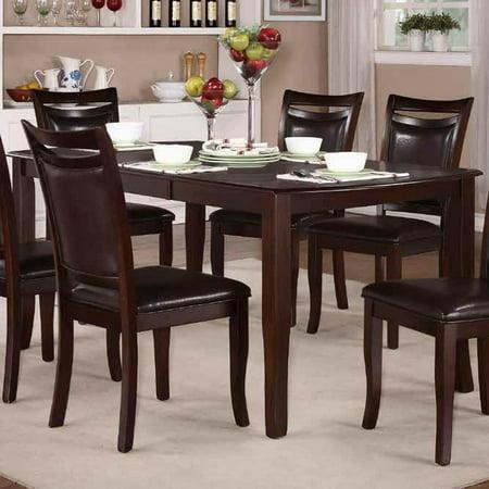 Homelegance Maeve Extension Dining Table in Dark Cherry (Renaissance Dark Cherry)