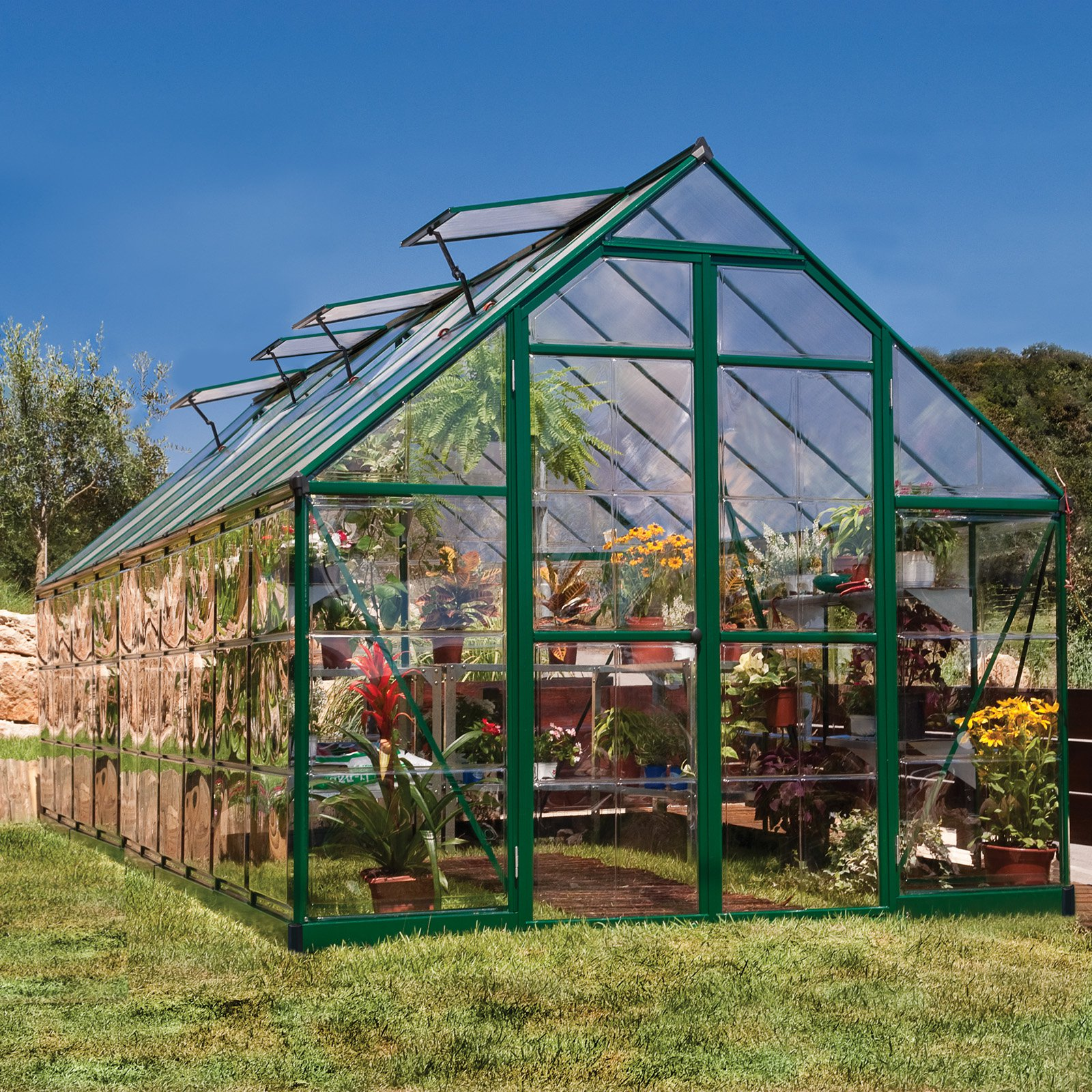 Green Balance 8' x 20' Greenhouse by Palram