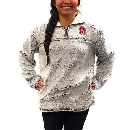 - North Carolina State Wolfpack Poodle Jacket; Full Zipper University Apparel Clothing