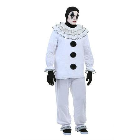Men's Vintage Pierrot Clown Costume