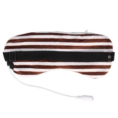 Garosa Voyage Eyeshade, USB Chauffage Vapeur Eyeshade Lavande Masque Pour Les Yeux Massager Pour Les Yeux Massager Sommeil Voyage Portable, Eyeshade - image 3 de 4