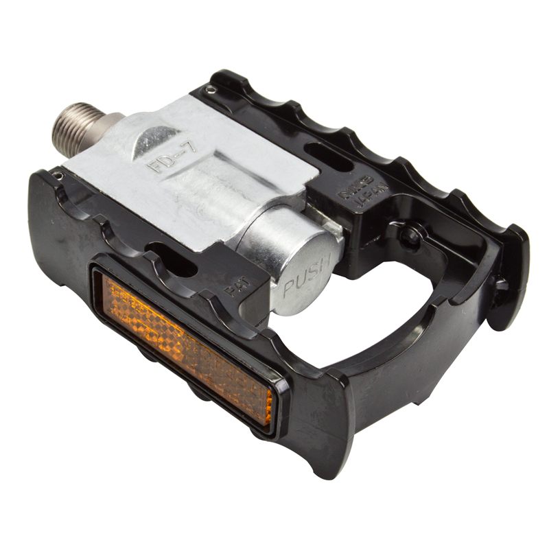 Bicycle Pedals Mks Folding Fd-7 Alloy 9/16 Black