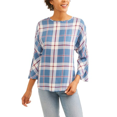 - Women's Plaid Top