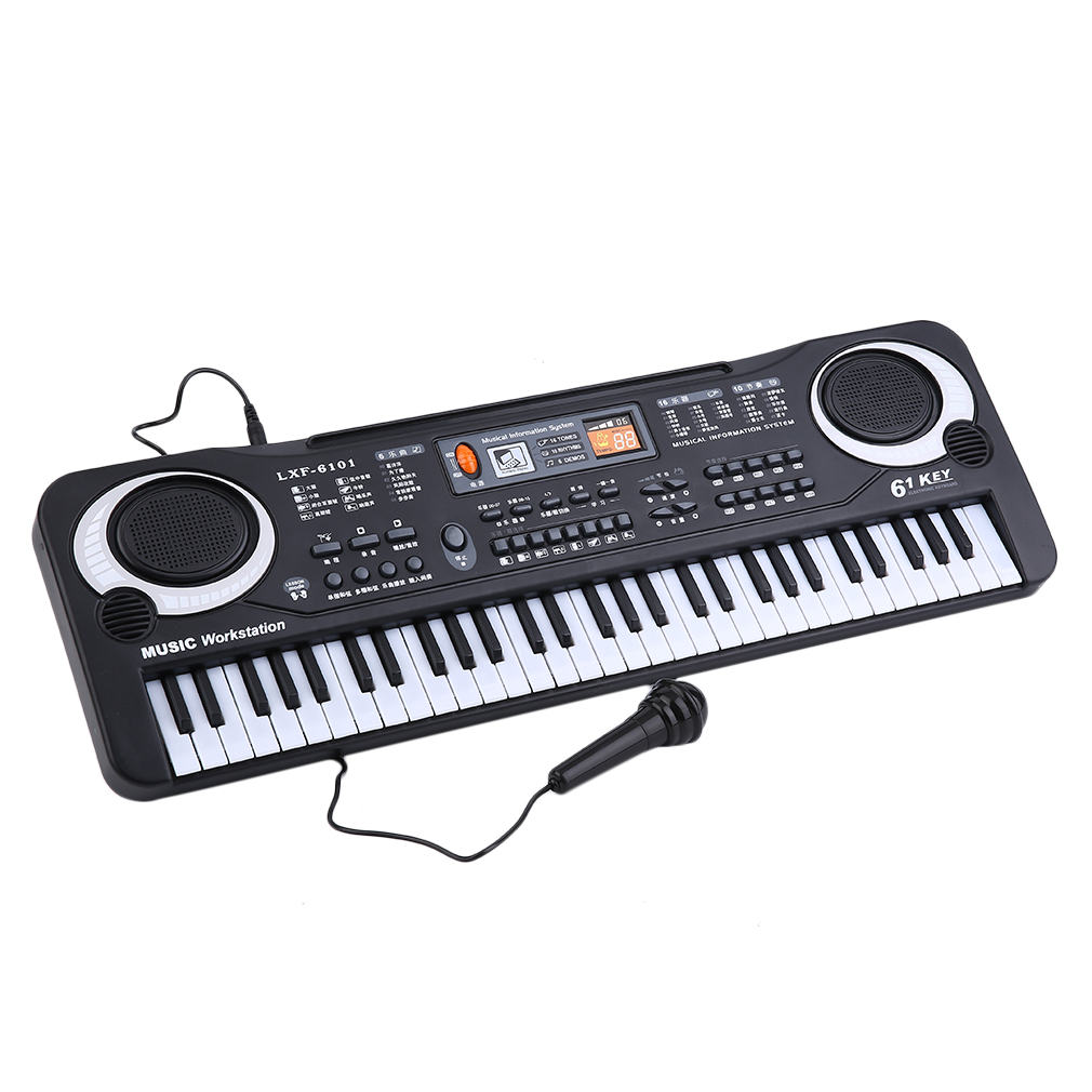 61 Keys Music Electronic Digital Keyboard Electric Organ Children Great Gifts With... by
