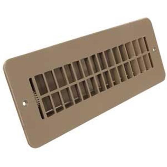 28886ABTNA Heating And Cooling Register & Vent With Dampered - Tan