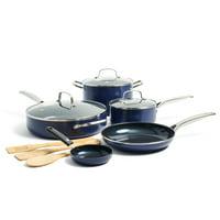 Blue Diamond Blue Nonstick Ceramic 11-Piece Cookware Set