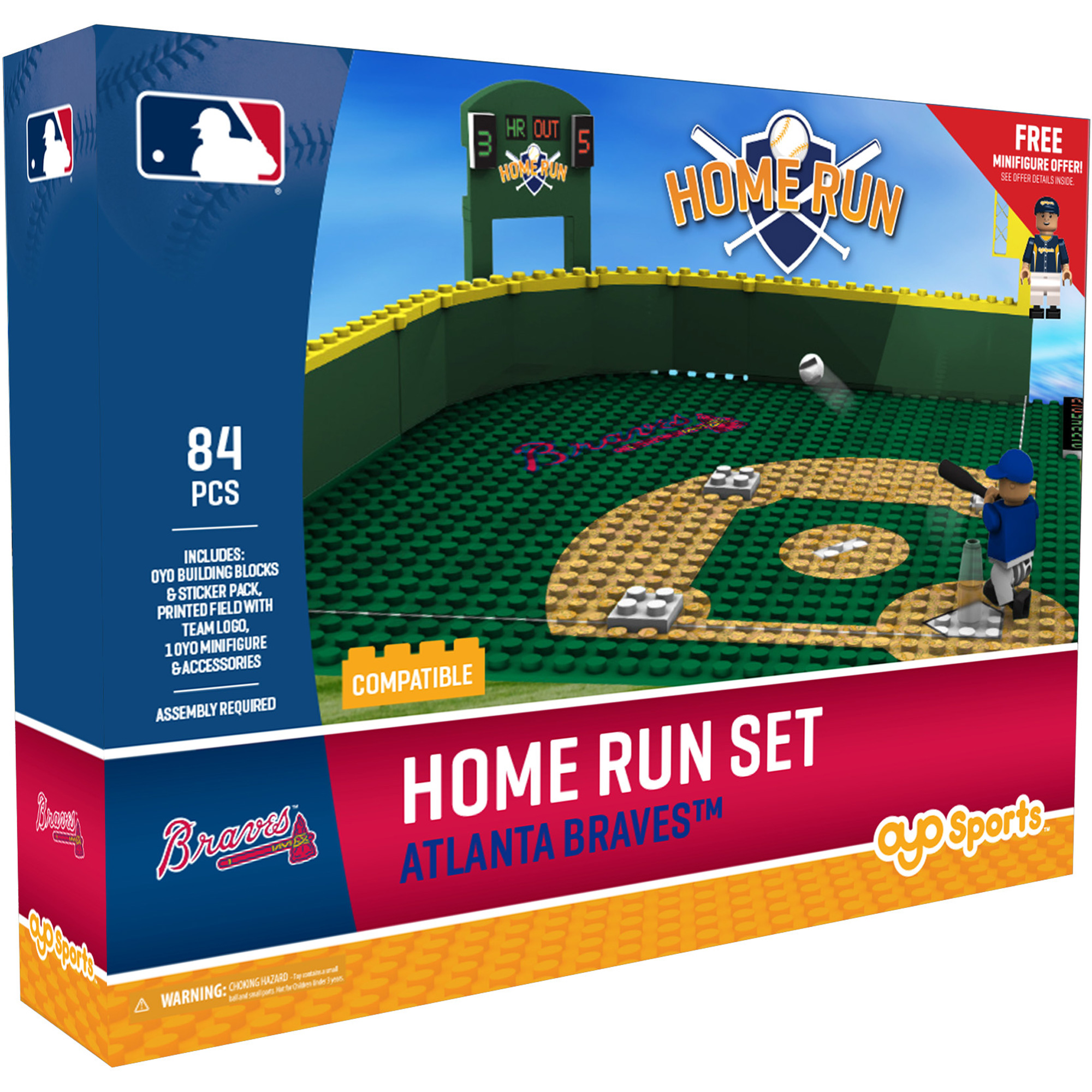 Atlanta Braves OYO Sports Home Run Derby Set - No Size