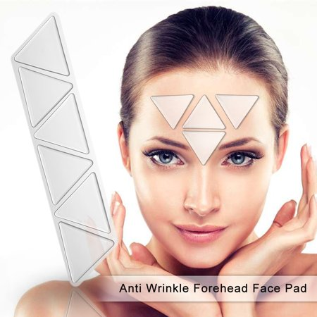 Anti Wrinkle Forehead Face Pad Reusable Silicone Invisible Nasolabial Folds Anti-aging Mask Prevent Face Wrinkle - Invisible Mask