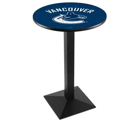 NHL Pub Table by Holland Bar Stool, Black Vancouver Canucks, 42'' L217 by
