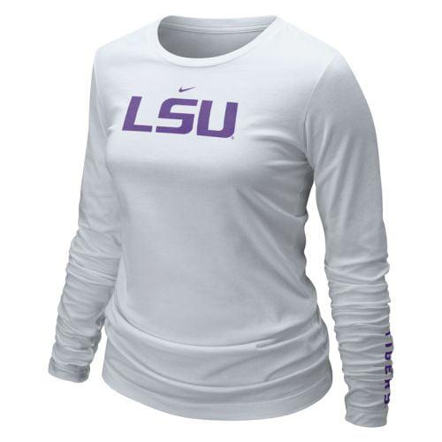 Lsu Tigers Shirt Nike Women's Long Sleeve Logo T Shirt by Nike