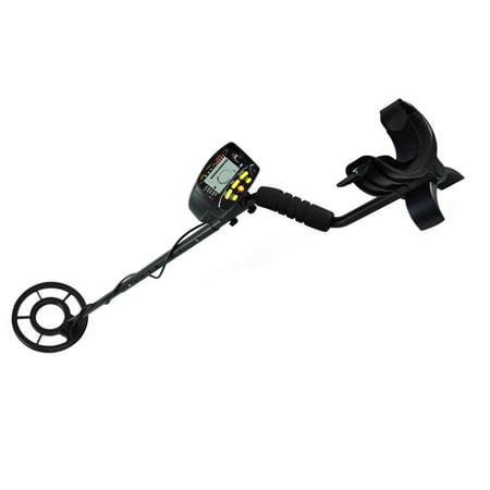 Metal Detector, Waterproof Search Coil, Pin-Point Detect, Adjustable Sensitivity, Headphone Jack, Digital LCD Display