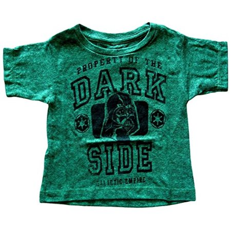 Mad Engine Big Boys Star Wars Darth Vader Property Of The Dark Side T Shirt  Small  Dark Green