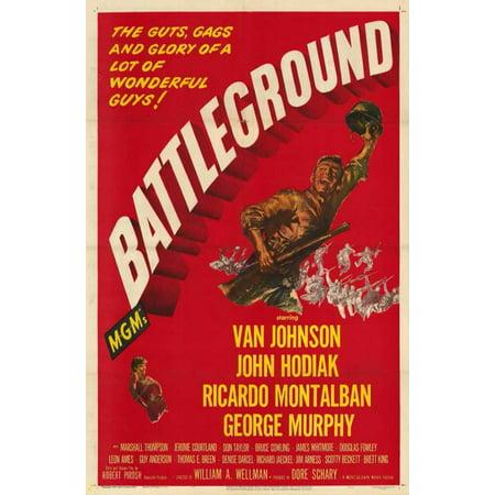 Battleground - movie POSTER (Style A) (11