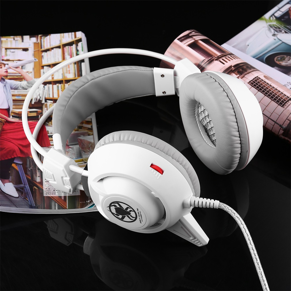 USB LED Game Light Headset For PC PLEXTONE PC835 Notebook Computer Earphone Headset Earphone with Microphone 2.2 m Cable