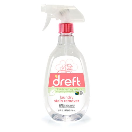 - (2 pack) Dreft Laundry Stain Remover, 24 Oz