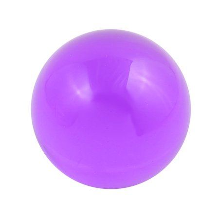 30mm Diameter Solid Round Acrylic Sphere Plexiglass Ball Ornament Purple