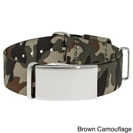 BIG Jewelry Co Stainless Steel Men's Camouflage Identification - Camouflage Jewelry