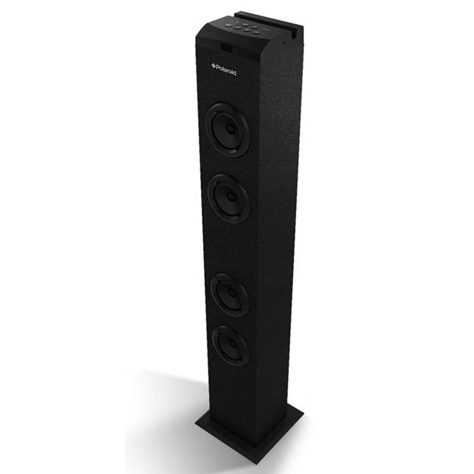 Polaroid Bluetooth Tower Speaker Stereo Sound System with Built in Dock  Station & FM Radio - Walmart.com