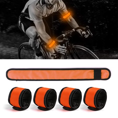 5 Pack LED Slap Armband Lights Glow Band for Running Jogging Walking 35cm](Led Glow Rings)