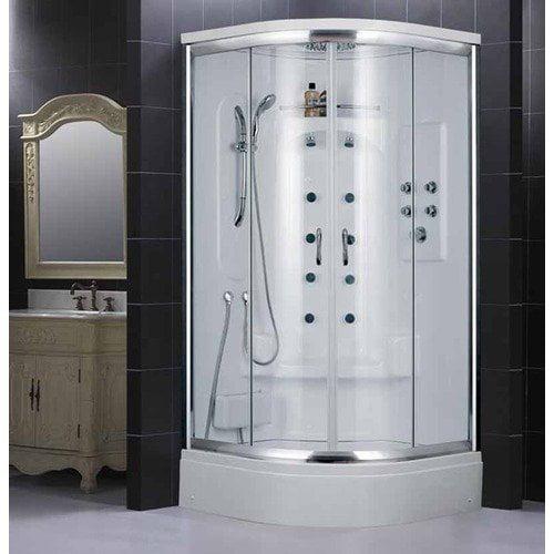 Dreamline Niagara Jetted Door Steam Shower Enclosure with 4 kW Steam Generator
