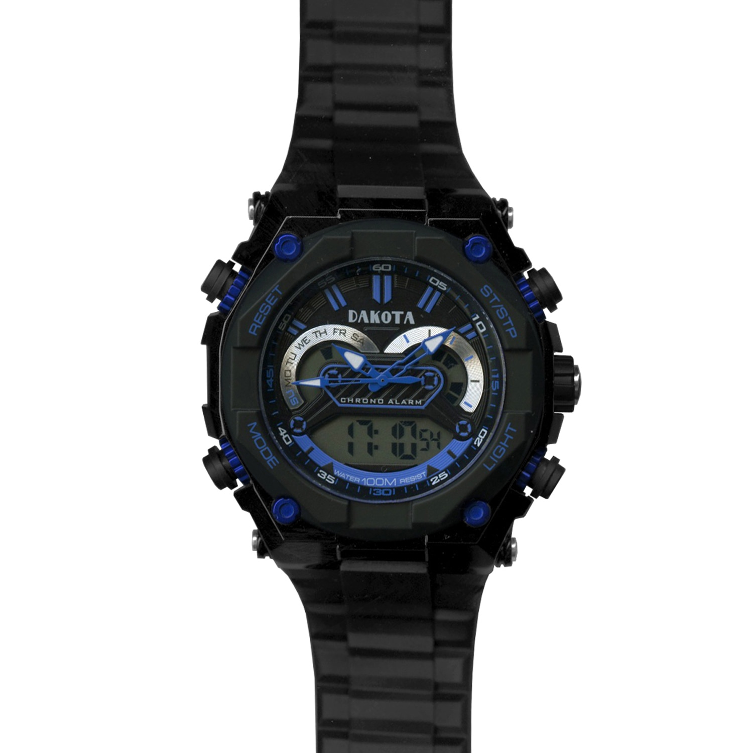 Dakota Watch Dakota Men's Black Tough Ana-Digi Watch