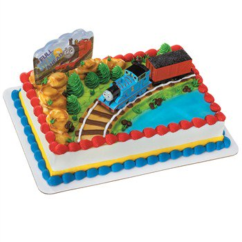 Thomas And Coal Car Cake Topper Walmart Com