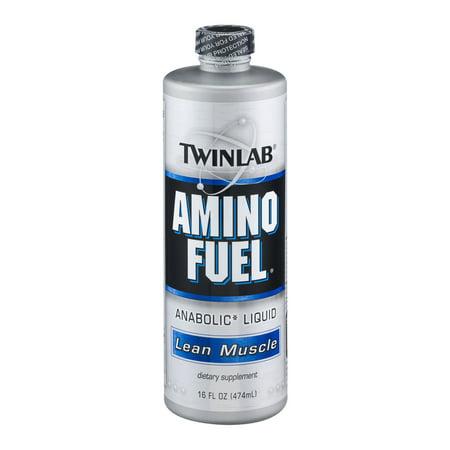 Twinlab Amino Fuel Anabolic Liquid Dietary Supplement  16 0 Fl Oz