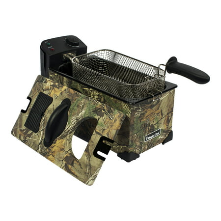Magic Chef 3-Liter Deep Fryer with Authentic Realtree Xtra Camouflage Pattern