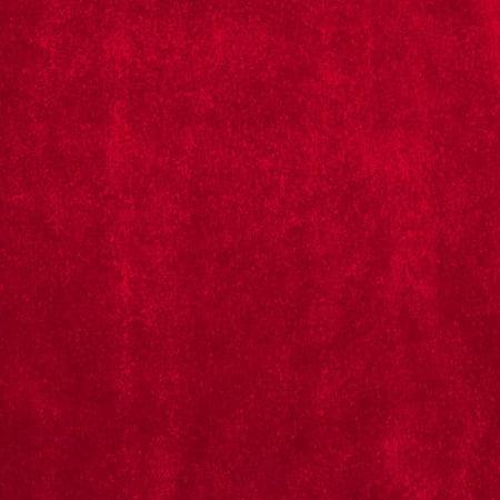 Alpine Upholstery Velvet Red Fabric By The Yard, Velvet By Plastex Fabrics