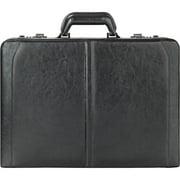 """Solo, USL4714, US Luggage Classic 16"""" Leather Attache, 1, Black"""