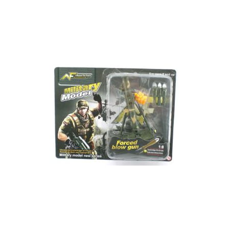 Mortar Tube Rocket Gun 1:8 Scale Military Model Doll Accessory