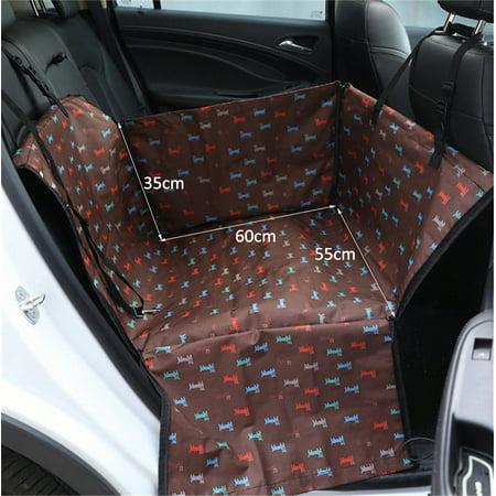 Anti-Fur Seat Cover-Pet | Carrier Dog Car Back Seat Carrier Cover| Pet Dog Mat Blanket - image 6 of 7