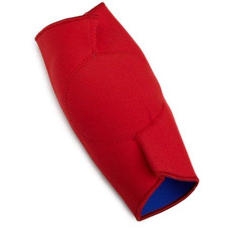 ASICS Unisex Wrestling Knee Pad, Red/Royal, Small ()