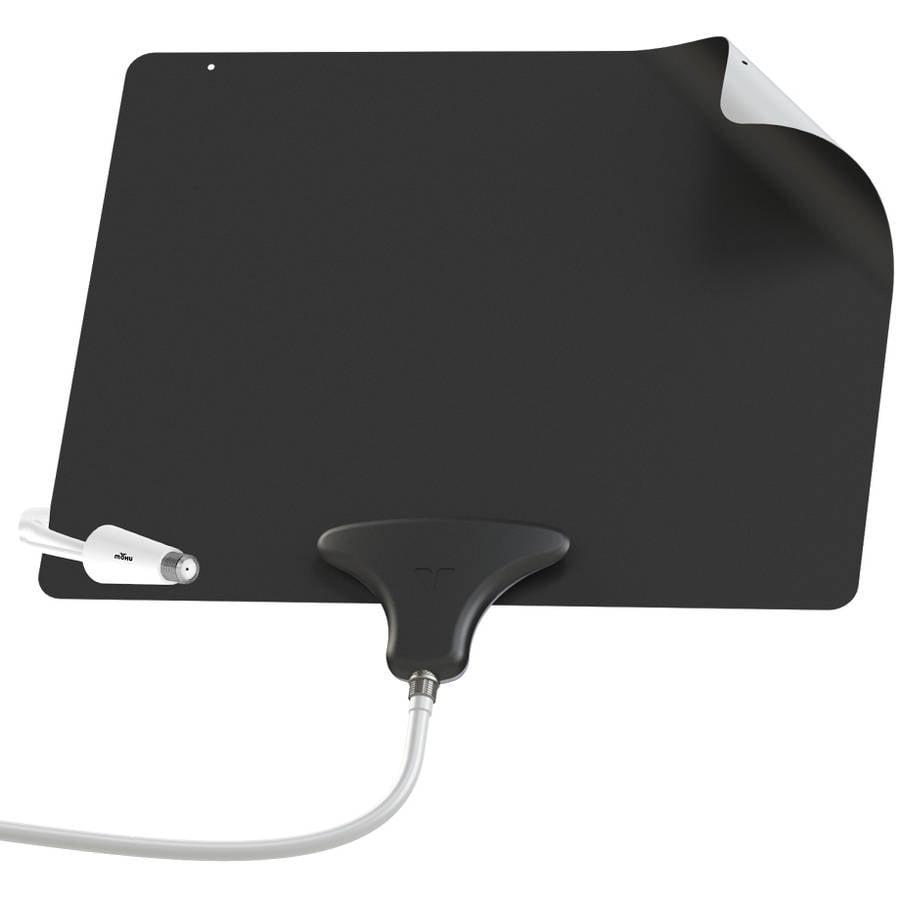 Mohu Leaf Ultimate Flat 50 Mile Indoor Amplified HDTV Antenna