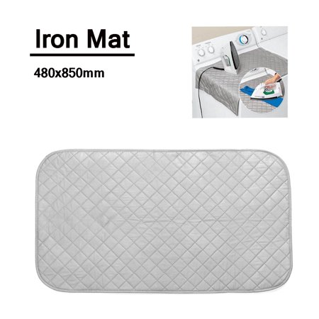 "33x19"" Ironing Mat Pad Washer Dryer Laundry Cover Board Heat Resistant"