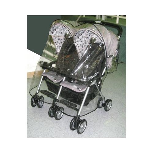 Sasha's Rain/Wind Cover Combi Twin Stroller - Stroller not included