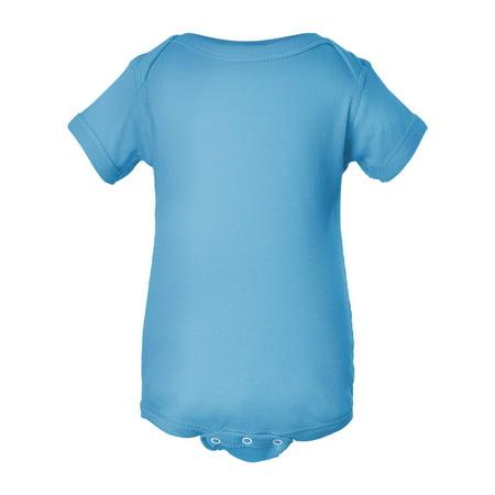Rabbit Skins 4400 Infant Bodysuit - Aqua - New Born ()