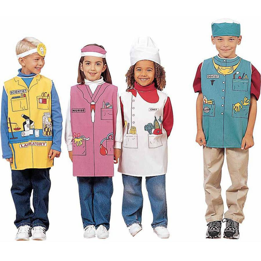 Childcraft Health Career Costumes For Children Set Of 6 Walmart Com Walmart Com