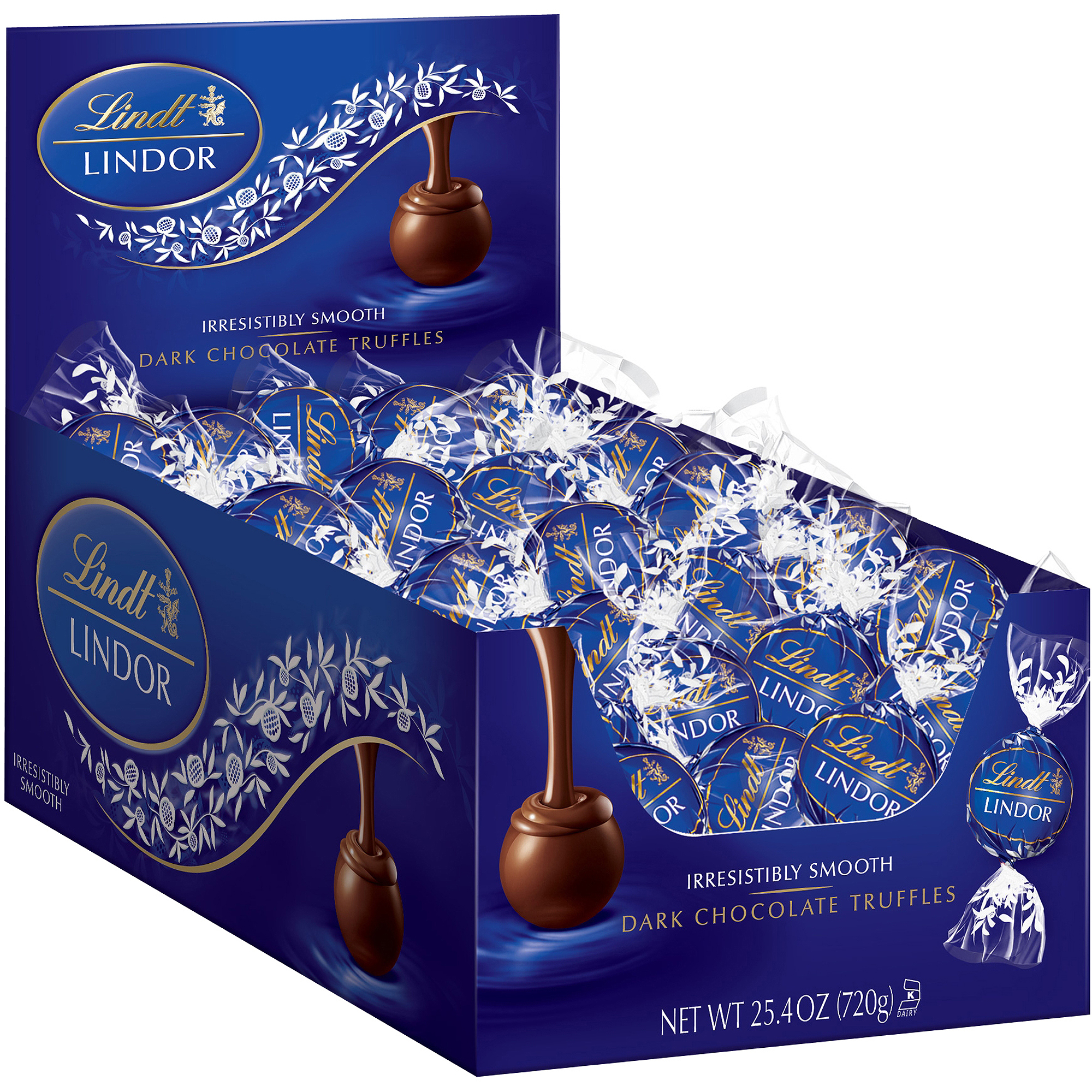 Lindor Dark Chocolate Truffles, 25.4 oz