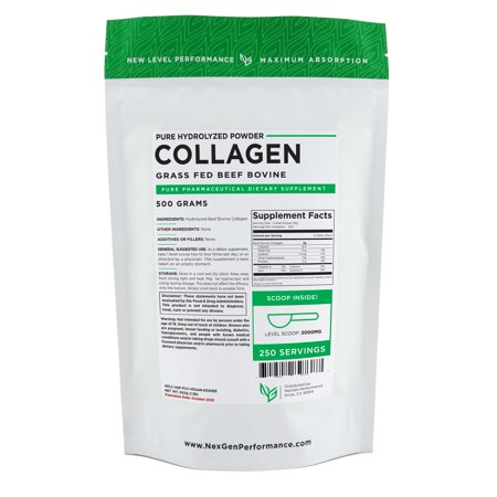 Collagen Powder 500g (1.1lbs) | Hydrolyzed Beef Bovine | Clean & Pure
