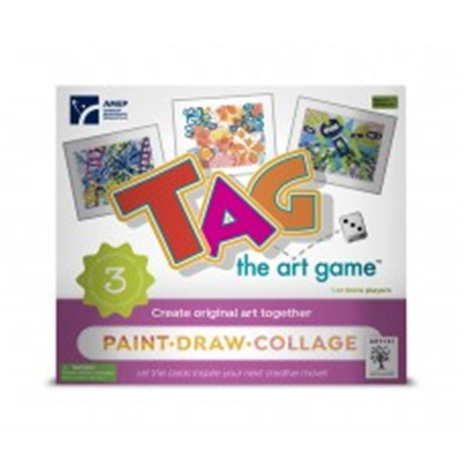 American Educational A-TAG102 Tag the Art Game Class Set