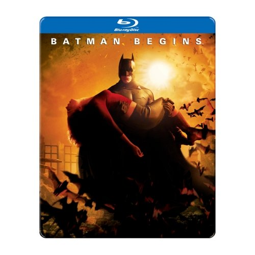 Batman Begins (Blu-ray) (Steelbook Packaging) (Widescreen)