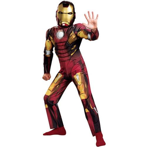 Iron Man Mark VII (The Avengers) Classic Muscle Child Halloween Costume