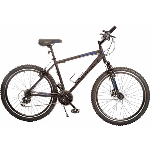 "18"" Titan Dark Knight Men's Mountain Bike, Matte Black"