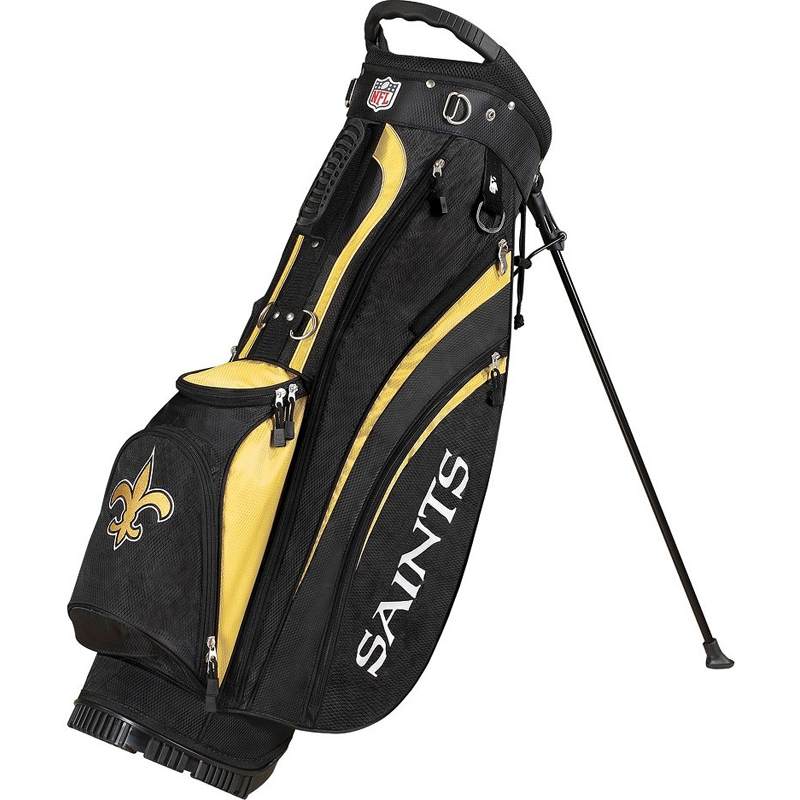 Wilson NFL New Orleans Saints Golf Carry Bag