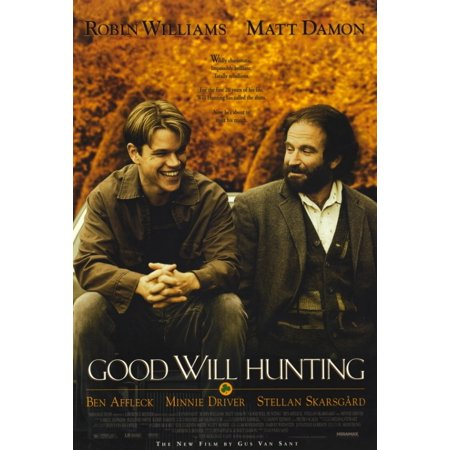 Good Will Hunting Movie Poster Print  27 X 40