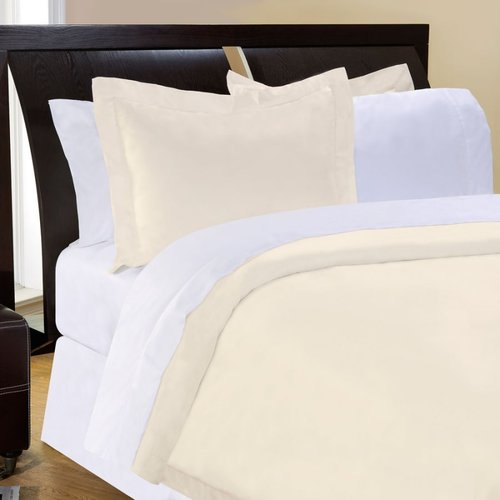 Pointehaven 500 Thread Count 3 Piece Duvet Set
