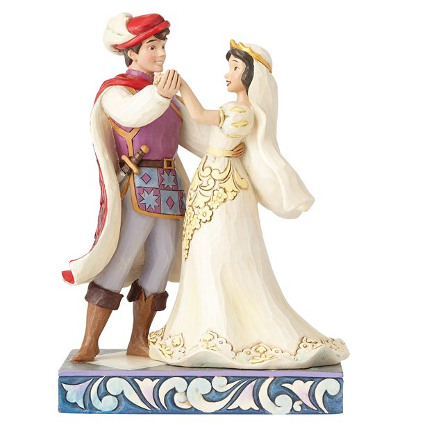 Jim Shore Disney Traditions Snow White and Prince Wedding ...